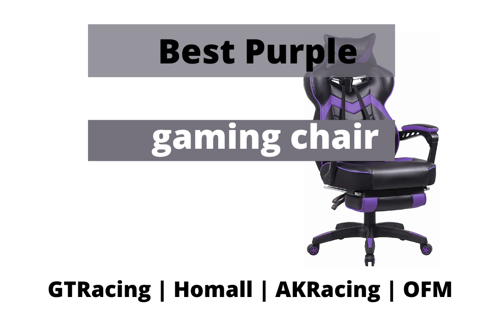 best purple gaming chairs